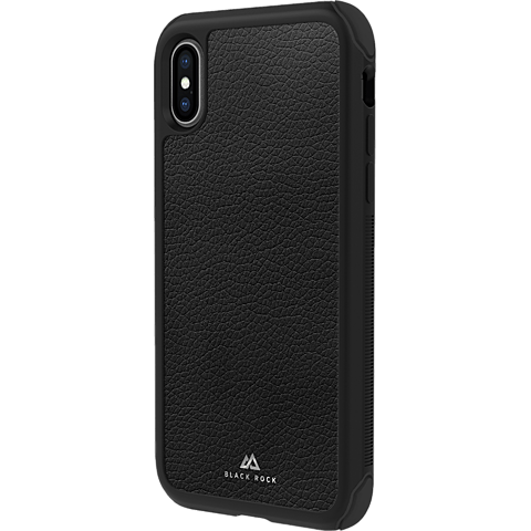 Black Rock Robust Real Leather Case Apple iPhone XR - Schwarz 99928301 vorne