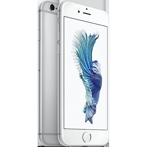 apple-iphone-6s-16gb-silber-vorne-und-hinten