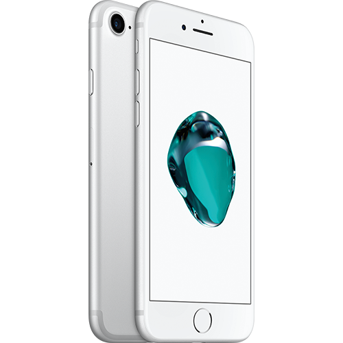 Apple iPhone 7 Silber vorne thumb