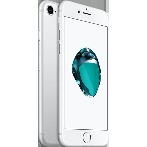 Apple iPhone 7 Silber vorne thumb