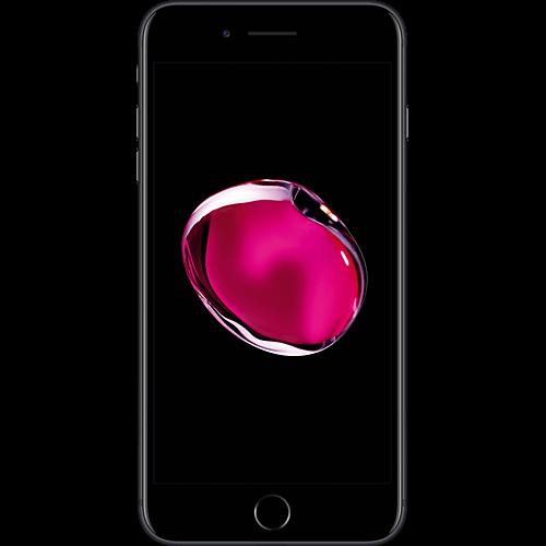 Apple iPhone 7 Plus Schwarz vorne