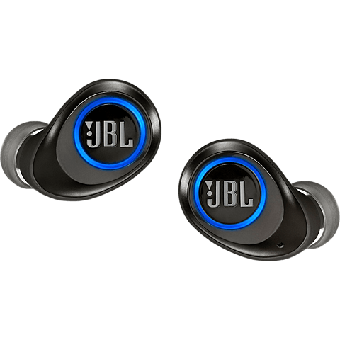 JBL Free X True In-Ear Wireless Headset - Schwarz 99928632 vorne