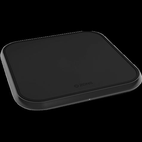 ZENS Aluminium Single Fast Wireless Charger 99928427 hero