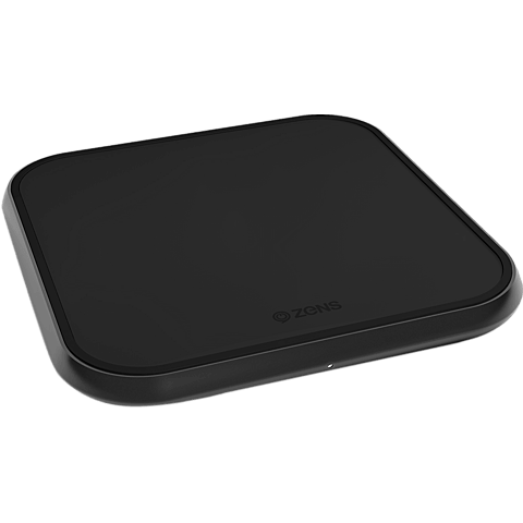 ZENS Aluminium Single Fast Wireless Charger 99928427 vorne