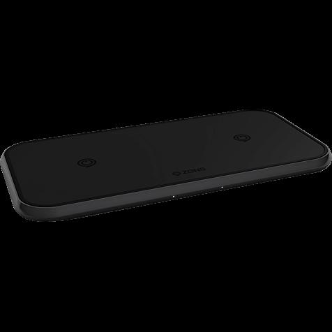 ZENS Aluminium Dual Fast Wireless Charger 99928428 hero
