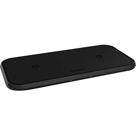ZENS Aluminium Dual Fast Wireless Charger 99928428 vorne
