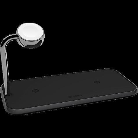 ZENS Aluminium Dual + Watch Fast Wireless Charger 99928429 hero