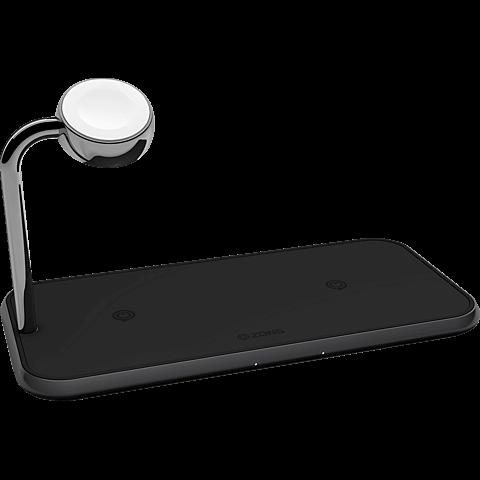 ZENS Aluminium Dual + Watch Fast Wireless Charger 99928429 vorne