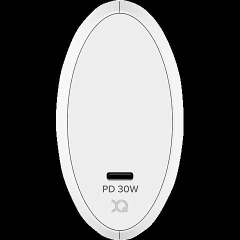 xqisit Ladegerät 30W Single USB-C 99928171 hinten