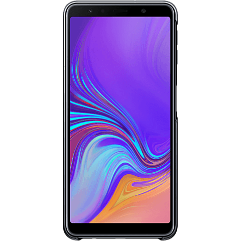 Samsung Gradation Cover Galaxy A7 (2018) 99928682 hinten