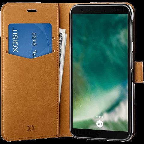 xqisit Slim Wallet Selection Samsung Galaxy A7(2018) 99928673 seitlich