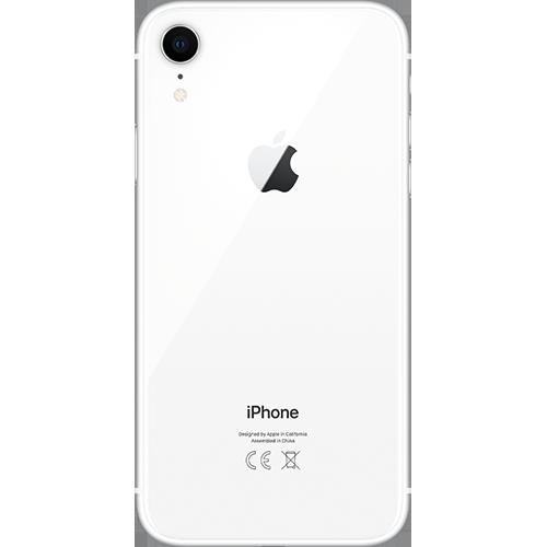 Apple iPhone XR Weiß Hinten