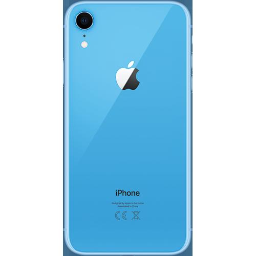 Apple iPhone XR Blau Hinten