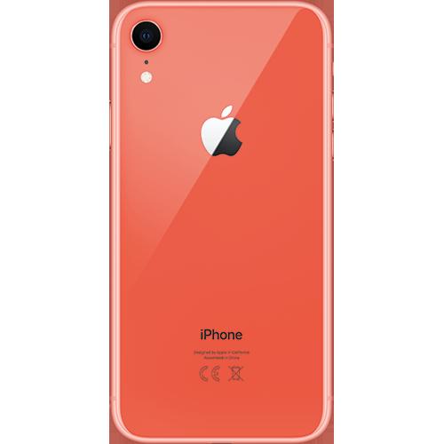 Apple iPhone XR Koralle Hinten