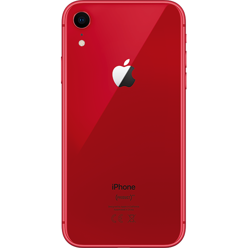 Apple iPhone XR (PRODUCT)RED Hinten