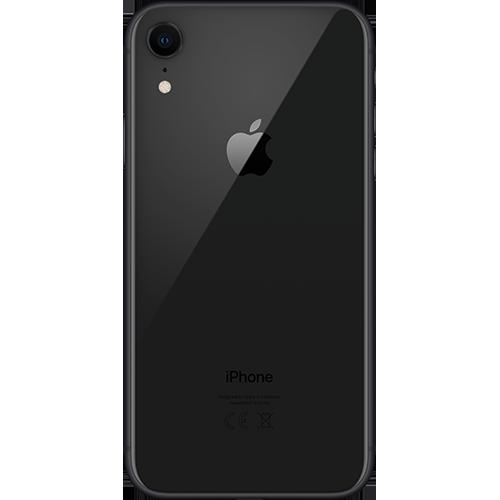 Apple iPhone XR Schwarz Hinten