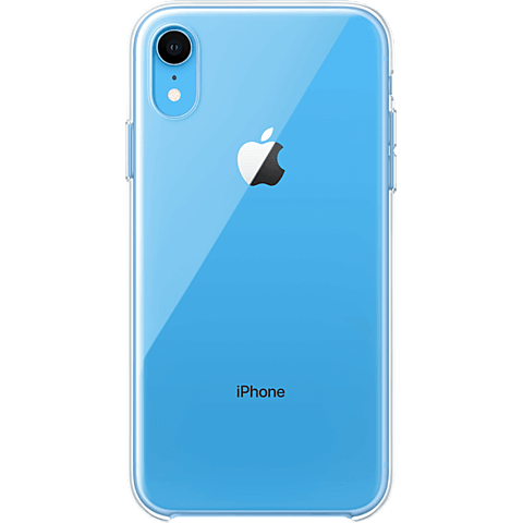 Apple Clear Case iPhone XR sw vorne 99928731