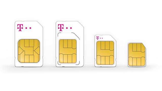 Nano Sim Karte Bilder.Sim Karten Formate Alle Wissenswerten Informationen Telekom
