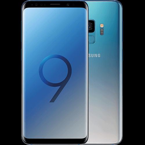 Samsung Galaxy S9 Polaris Blue Vorne und Hinten