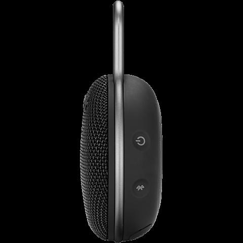 JBL Clip 3 Bluetooth Lautsprecher - schwarz seitlich 99928866