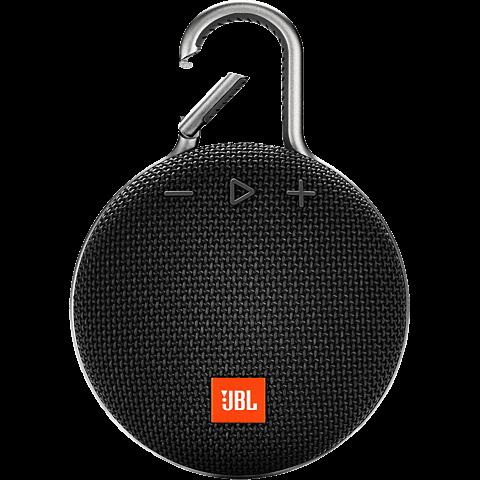 JBL Clip 3 Bluetooth Lautsprecher - schwarz vorne 99928866