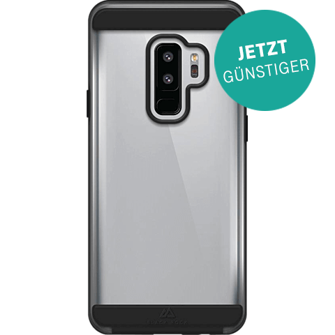 Black Rock Air Protect Cover Samsung Galaxy S9+ Schwarz 99927626 vorne aktion