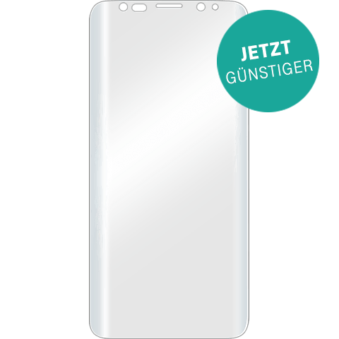 Displex Displayschutzfolie Transparent Samsung Galaxy S9 99927632 vorne aktion