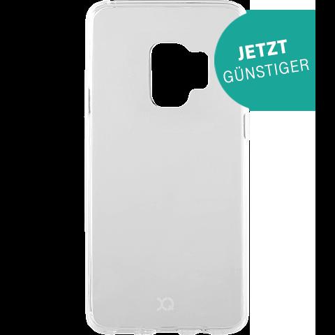 xqisit Flex Case Samsung Galaxy S9 Transparent 99927639 vorne aktion