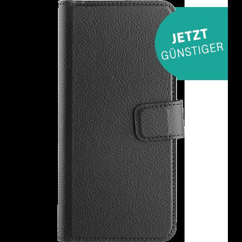 xqisit Slim Wallet Selection Samsung Galaxy S9 Schwarz 99927637 vorne aktion