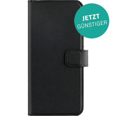 xqisit Slim Wallet Selection Schwarz Samsung Galaxy S8 99926342 vorne aktion