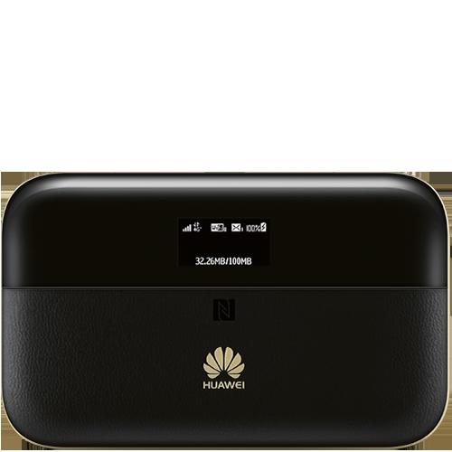 HUAWEI E5885 Mobile WiFi Pro2 Schwarz Vorne und Hinten