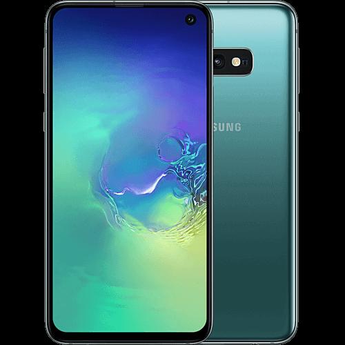 Samsung Galaxy S10e Prism Green Vorne und Hinten