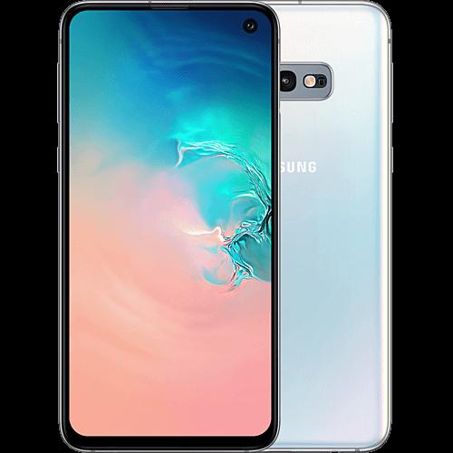 Samsung Galaxy S10e Prism White Vorne und Hinten