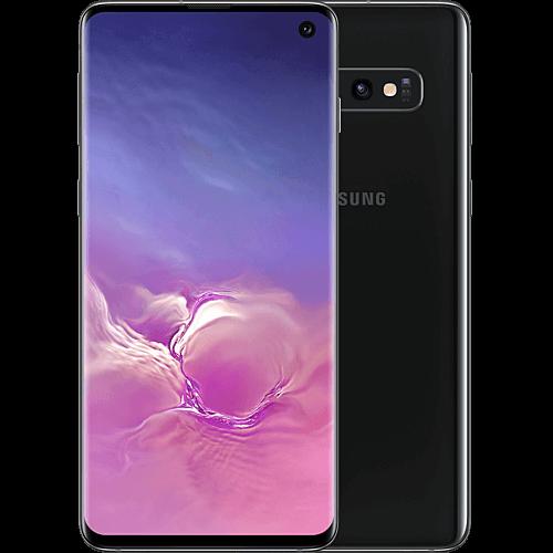 Samsung Galaxy S10 Prism Black Vorne und Hinten