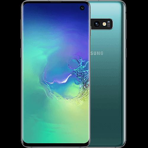 Samsung Galaxy S10 Prism Green Vorne und Hinten