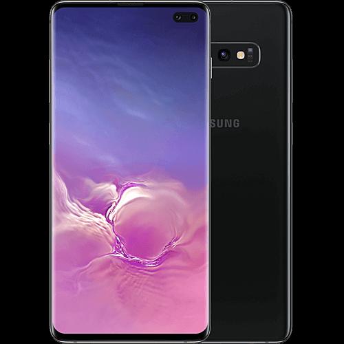 Samsung Galaxy S10+ Ceramic Black Vorne und Hinten