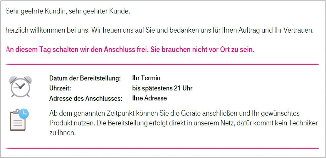 Telekom Termin
