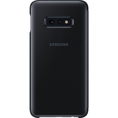 Samsung Clear View Cover Galaxy S10e - Schwarz 99928897 hinten