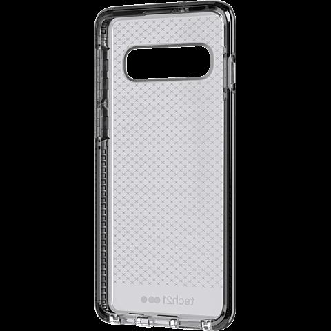 Tech21 Evo Check Hülle Samsung Galaxy S10 - Schwarz 99928879 vorne