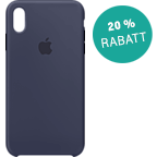 Apple Silikon Case iPhone XS Max - Mitternachtsblau 99928479 kategorie