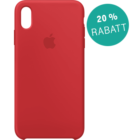 Apple Silikon Case iPhone XS Max - Product Red 99928481 vorne