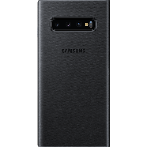 Samsung LED View Cover Galaxy S10 - Schwarz 99928905 hinten