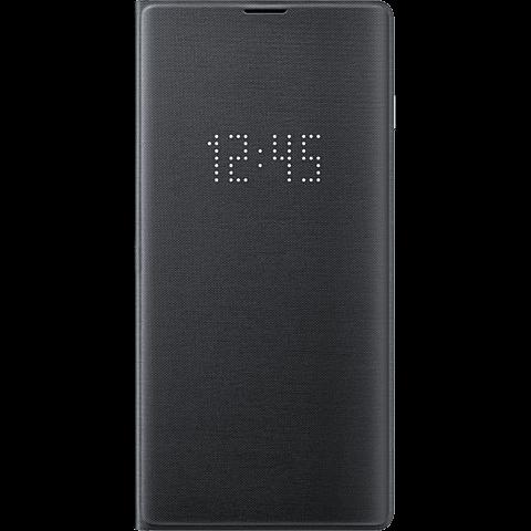Samsung LED View Cover Galaxy S10 - Schwarz 99928905 vorne