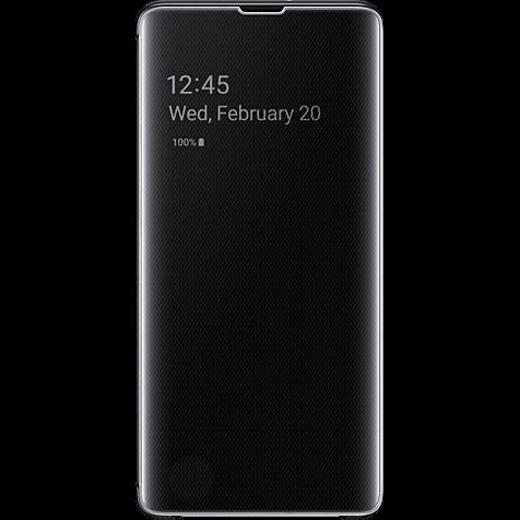Samsung Clear View Cover Galaxy S10+ - Schwarz 99928906 hero