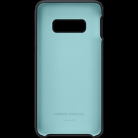 Samsung Silicone Cover Galaxy S10e - Schwarz 99928899 hinten