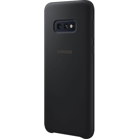 Samsung Silicone Cover Galaxy S10e - Schwarz 99928899 seitlich