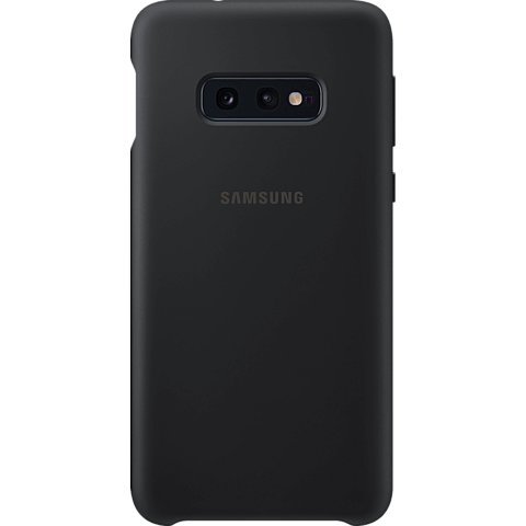 Samsung Silicone Cover Galaxy S10e - Schwarz 99928899 vorne