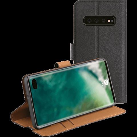 xqisit Slim Wallet Selection Samsung Galaxy S10+ - Schwarz 99928892 hinten