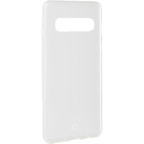 xqisit Flex Case Samsung Galaxy S10 - Transparent 99928894 seitlich
