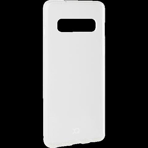 xqisit Flex Case Samsung Galaxy S10 - Transparent 99928894 seitlich